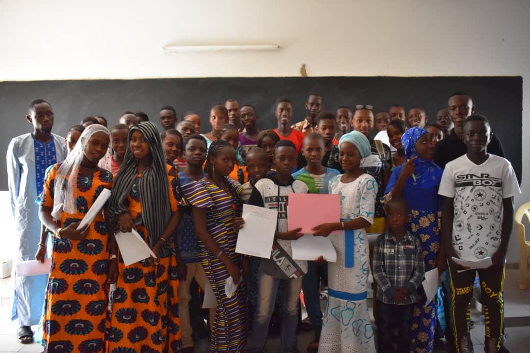 Participants du collège de Tomboronkoto
