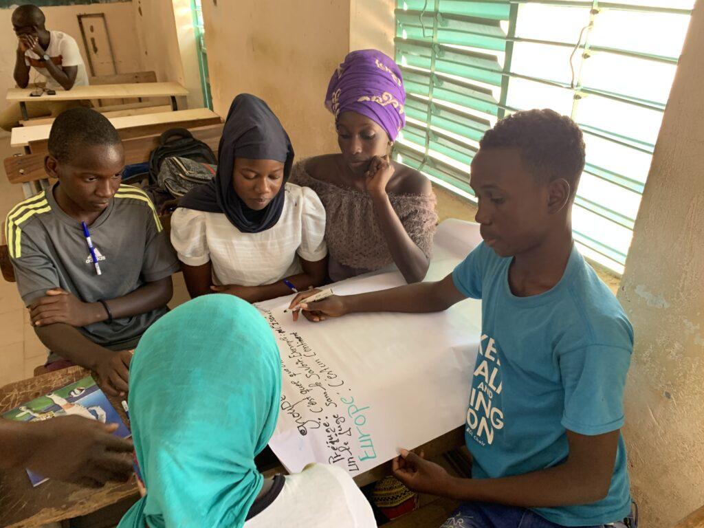 Groupe élèves Dindéfelo